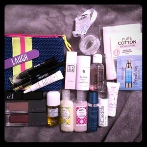Random Makeup and Skincare Set
